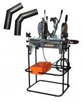 Новая портативная машина для стыковой сварки дренажных и безнапорных и низконапорных трубопроводов Ritmo MINI 160 JOYT ELBOWS