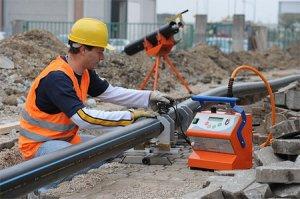 Инверторный электромуфтовый сварочный аппарат Ritmo MULTIPLA для сварки безнапорных и напорных трубопроводов