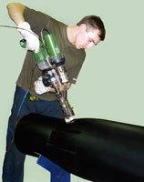 Надежное исполнение, выдерживающее все нагрузки - ручные экструдеры DOHLE для работы с пластиком!